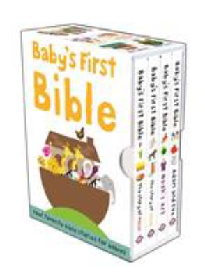 Baby's First Bible: The Story of Moses/Noah's Ark/The Story of Jesus/Adam and Eve 9780312514587