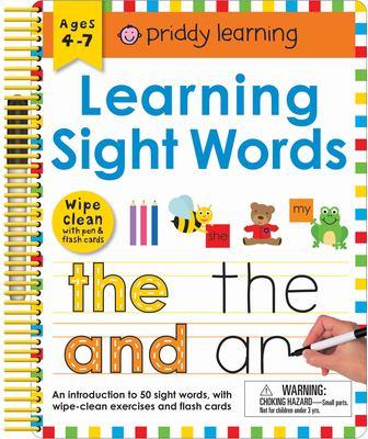 Wipe Clean: Learning Sight Words (Wipe Clean Workbooks)