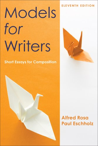 Models for Writers: Short Essays for Composition 9780312552015