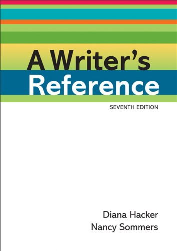 A Writers Reference 9780312601430
