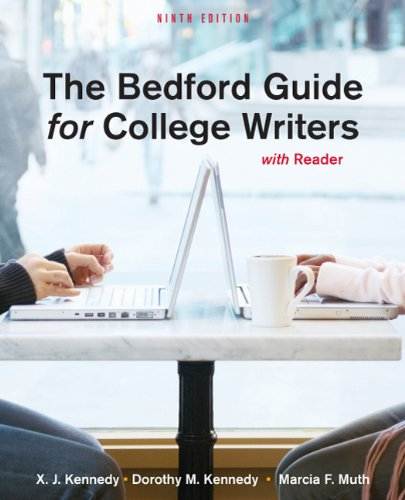 The Bedford Guide for College Writers with Reader 9780312601546