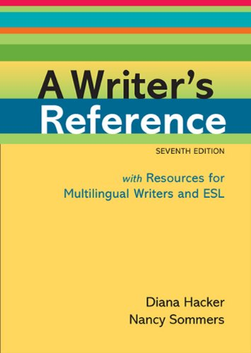 A Writer's Reference 9780312649364