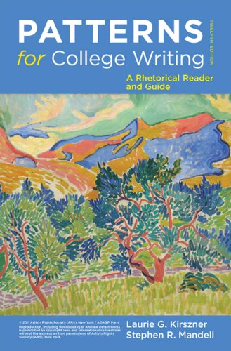 Patterns for College Writing: A Rhetorical Reader and Guide 9780312676841