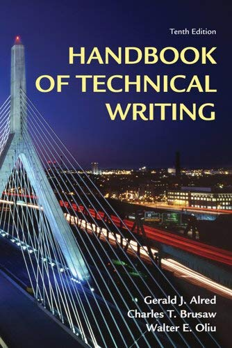 Handbook of Technical Writing 9780312679453