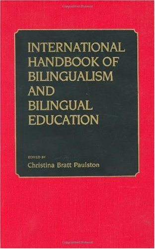 International Handbook of Bilingual Education 9780313244841
