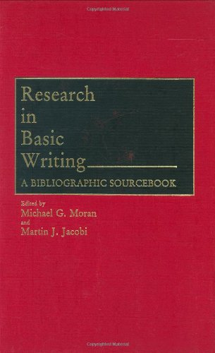 Research in Basic Writing: A Bibliographic Sourcebook 9780313255649