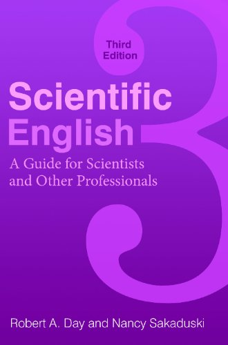 Scientific English: A Guide for Scientists and Other Professionals 9780313391941