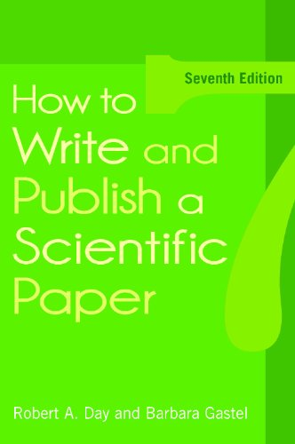 How to Write and Publish a Scientific Paper 9780313391972