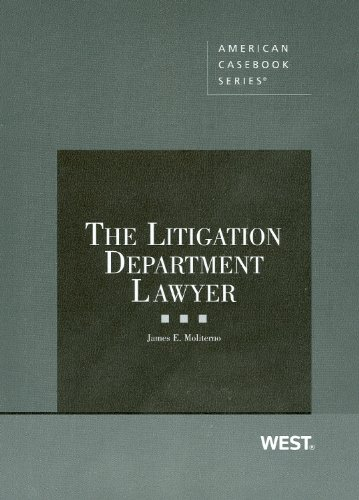 The Litigation Department Lawyer 9780314267207