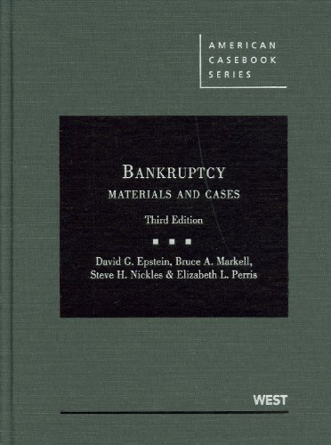 Bankruptcy: Materials and Cases 9780314911551