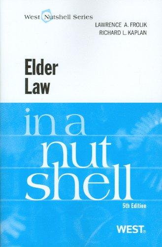Elder Law in a Nutshell 9780314926012