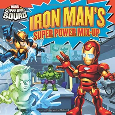 Super Hero Squad: Iron Man 8 X 8 9780316224871