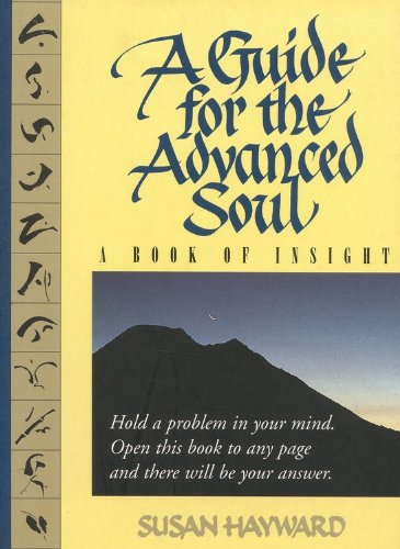 A Guide for the Advanced Soul: A Book of Insight Tag - Hold a Problem in Your Mind 9780316357463