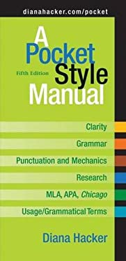 A Pocket Style Manual 9780312452759
