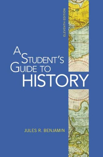 A Student's Guide to History 9780312535025