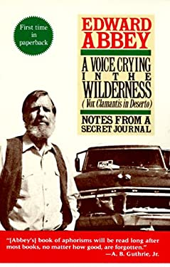 Voice Crying in the Wilderness : Notes from a Secret Journal