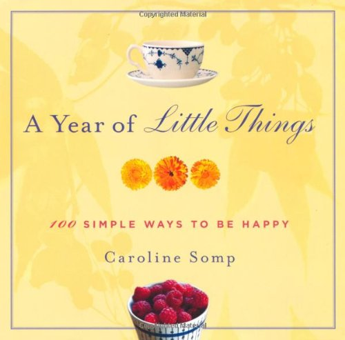 A Year of Little Things: 100 Simple Ways to Be Happy 9780312557621
