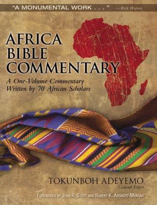 Africa Bible Commentary 9780310291879
