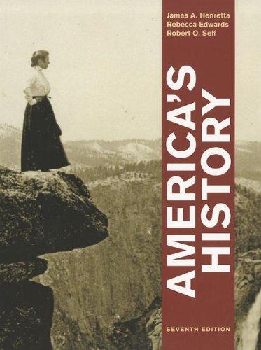America's History 9780312387938