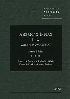 American Indian Law: Cases and Commentary 9780314908155