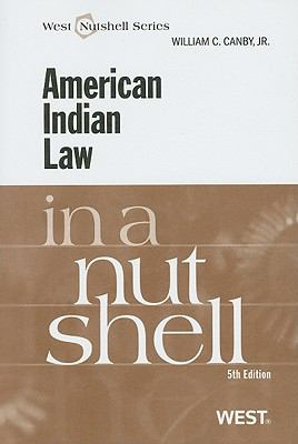 American Indian Law in a Nutshell 9780314195197