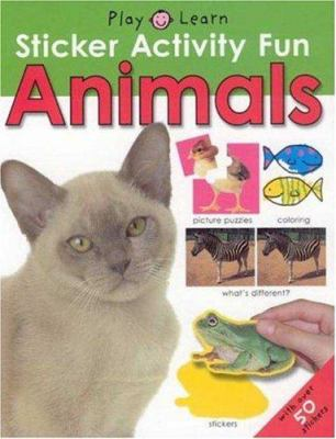 Animals [With Stickers] 9780312497958