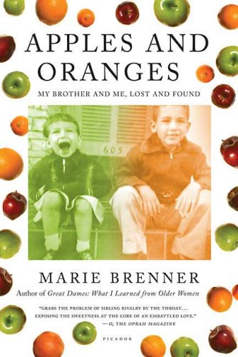 Apples and Oranges: My Brother and Me, Lost and Found 9780312428808