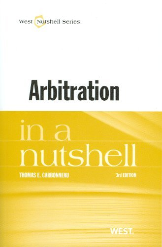 Arbitration in a Nutshell 9780314276155