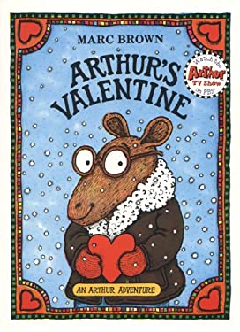 Arthurs Valentine With Book By Marc Tolon Brown