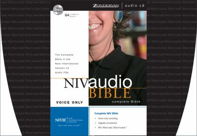 NIV Audio Bible Voice Only CD
