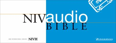 Audio Bible Voice Only-NIV 9780310920519