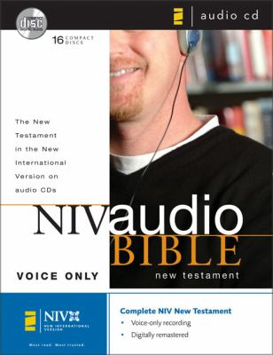 NIV Audio Bible New Testament Voice Only CD 9780310920526