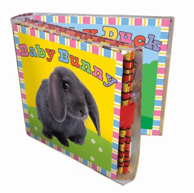 Baby Bunny and Baby Duck Pack [With Board Book] 9780312507961