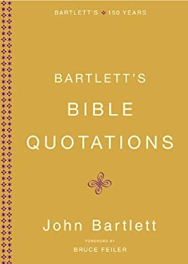 Bartlett's Bible Quotations 9780316014205