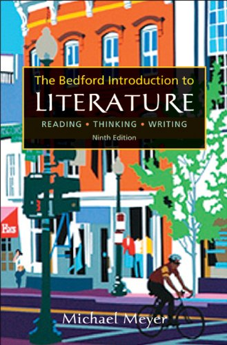 The Bedford Introduction to Literature 9780312539214