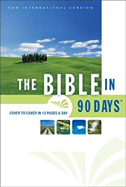 Bible in 90 Days-NIV-Thinline Large Print 9780310933519