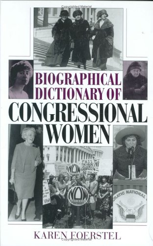 Biographical Dictionary of Congressional Women 9780313302909