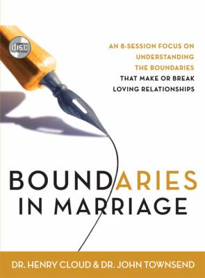 Boundaries in Marriage 9780310270836