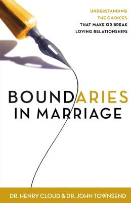 Boundaries in Marriage 9780310243144