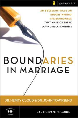Boundaries in Marriage Participant's Guide 9780310246152
