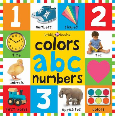 Bright Baby Colors, ABC, Numbers 9780312502195