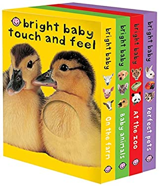 Bright Baby Touch & Feel Slipcase: On the Farm, Baby Animals, at the Zoo and Perfect Pets 9780312498726
