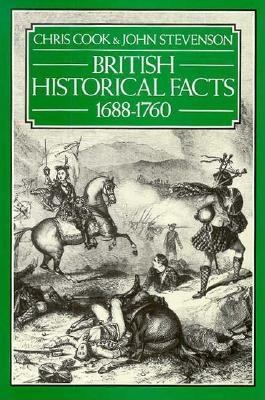 British Historical Facts, 1688-1760 9780312021061