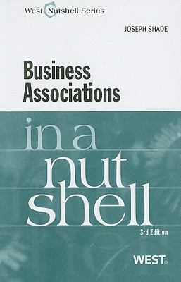 Business Associations in a Nutshell 9780314208514