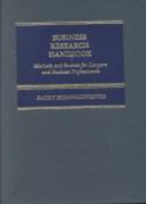 Business Research Handbook 9780316808811