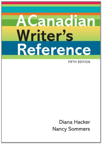 A Canadian Writer's Reference 9780312566173