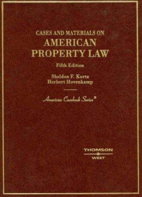 Cases and Materials on American Property Law 9780314177179