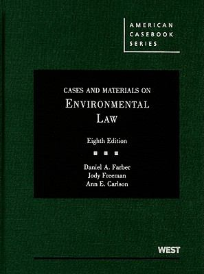 Cases and Materials on Environmental Law 9780314908834
