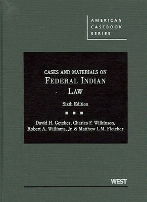 Cases and Materials on Federal Indian Law 9780314200372