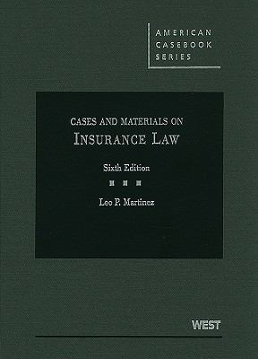 Cases and Materials on Insurance Law 9780314906793